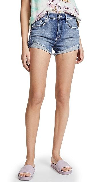MOTHER Rascal Slit Flip Shorts