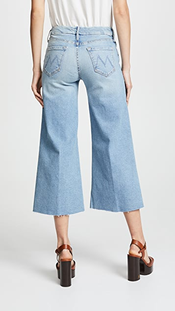 MOTHER The Roller Crop Fray Jeans