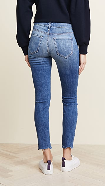 MOTHER The Looker Ankle Chew Jeans