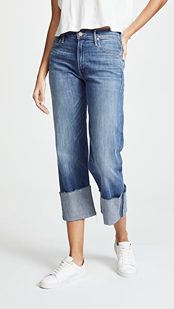 MOTHER The Dutchie Cuff Chew Jeans