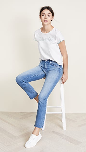 Rascal Ankle Snippet Jeans by Mother
