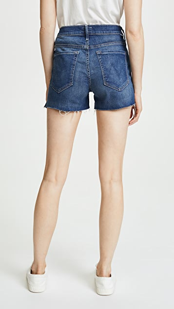 MOTHER The Saint Slit Shorts