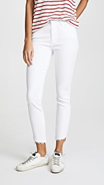 The Stunner Zip Ankle Step Fray Jeans