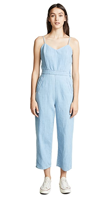 MOTHER The Cut It Out Jumpsuit
