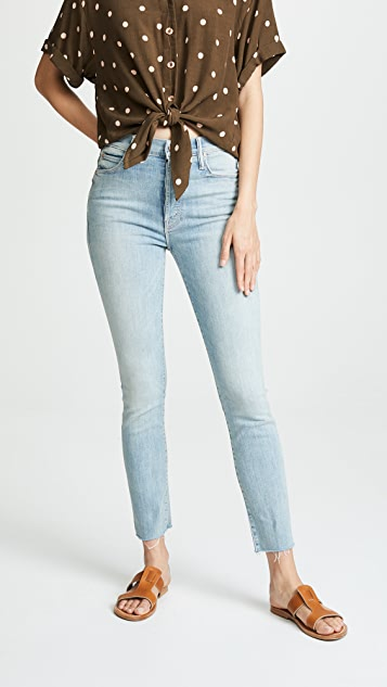 MOTHER The Stunner Ankle Fray Jeans
