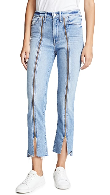 MOTHER High Waisted Rascal Misbeliever Jeans