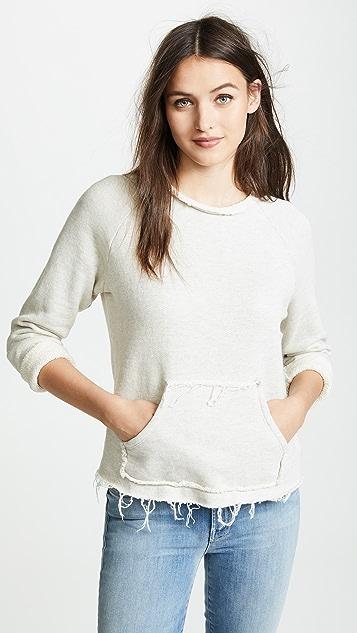MOTHER The Kangaroo Square Sweatshirt