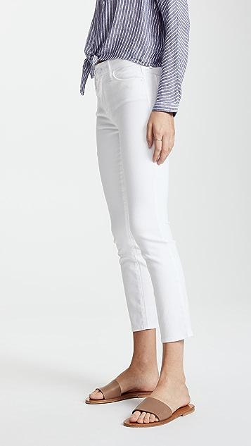 MOTHER Looker 九分紧身牛仔裤