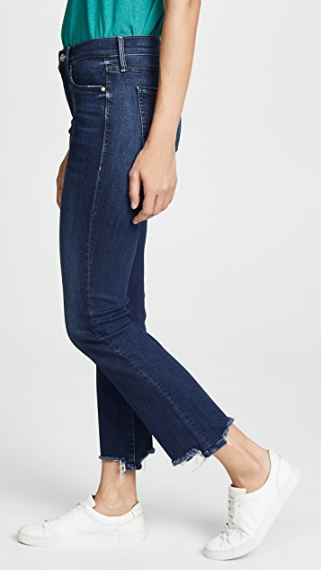 MOTHER The Rascal Ankle Chew Jeans