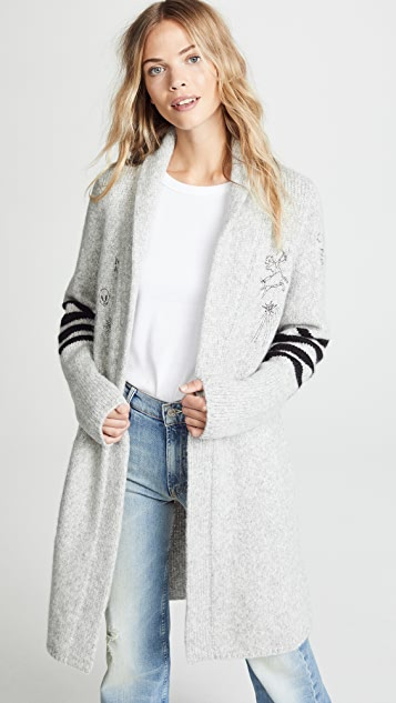 MOTHER The Alpaca Hip Cardigan