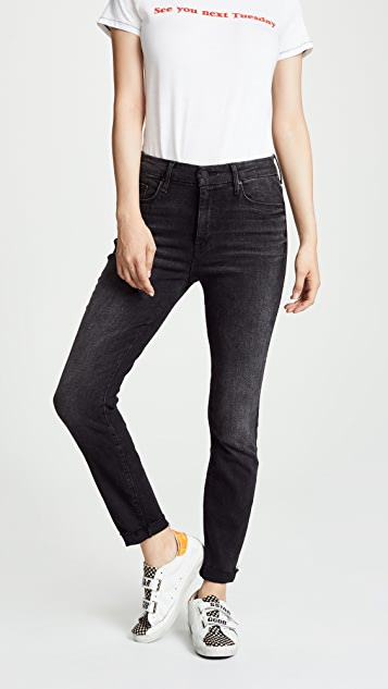 Sale alerts for  High Waist Looker Ankle Fray Jeans - Covvet