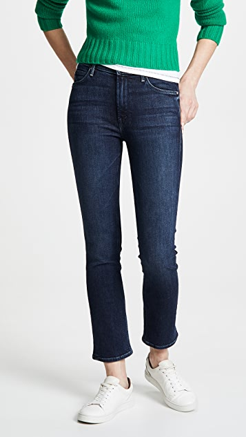 MOTHER The Mid Rise Dazzler Ankle Jeans