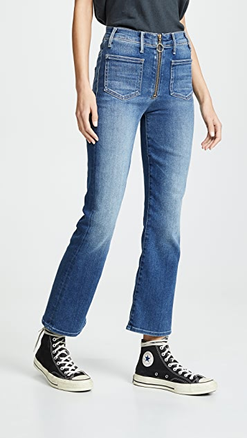 MOTHER The Patch XYZ Insider Ankle Jeans