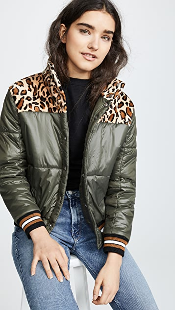 MOTHER The Puffer Snap Jacket