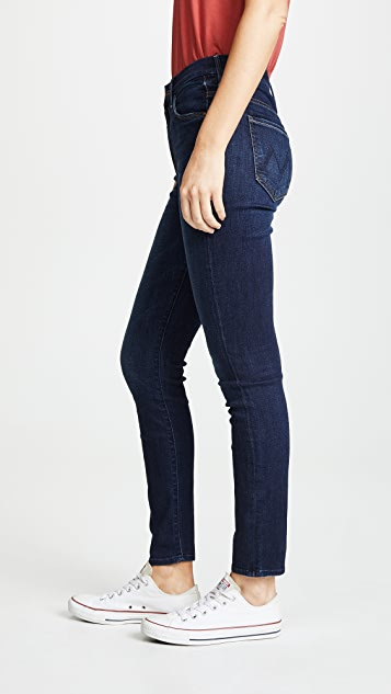 MOTHER High Rise Looker Ankle Jeans