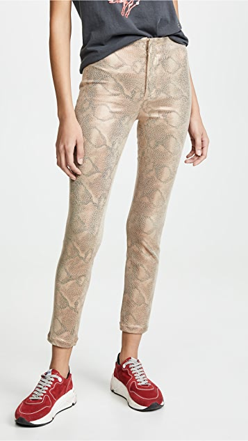 Seamless Looker Ankle Jeans by Mother