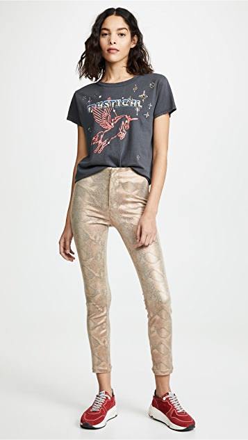 MOTHER Seamless Looker Ankle Jeans