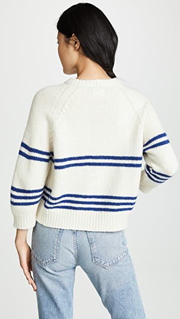 MOTHER The Boat Square Pullover