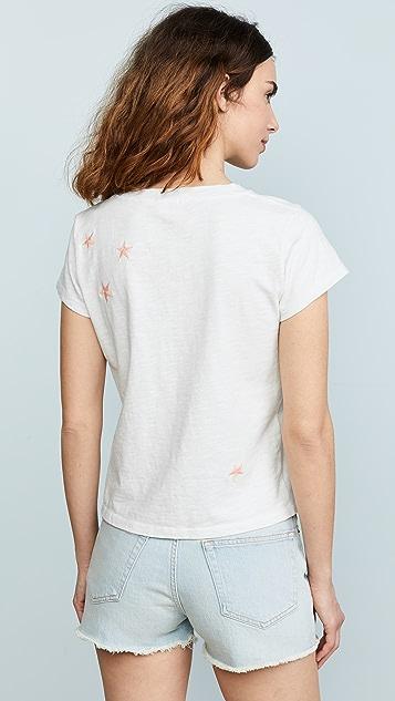 MOTHER Свободная футболка Goodie Goodie