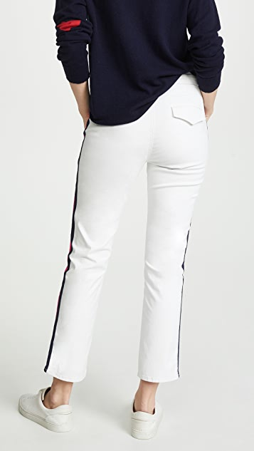 MOTHER Прямые джинсы до щиколотки Shaker