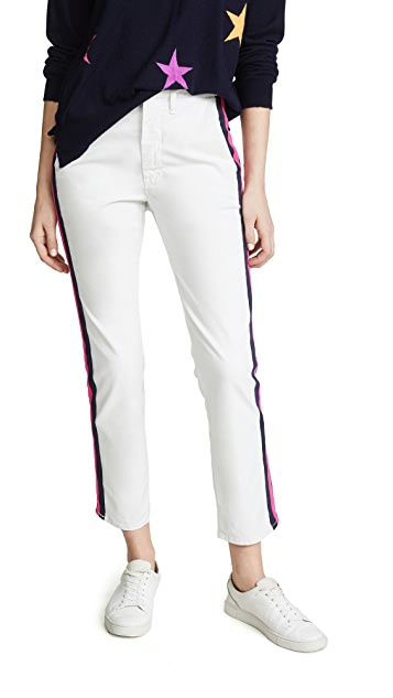 MOTHER The Straight Shaker Ankle Jeans