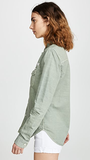 MOTHER The Trooper Blouse