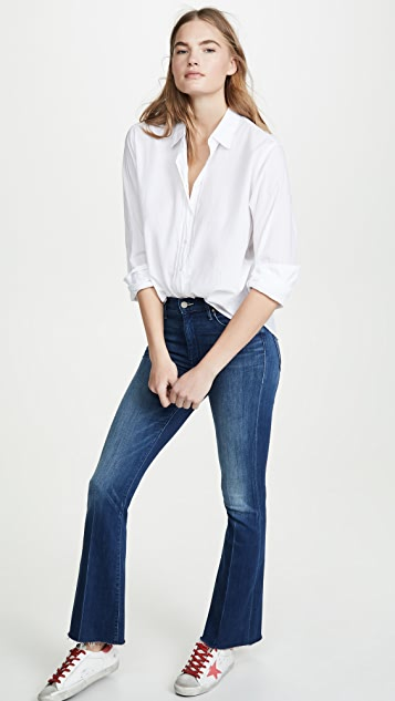 MOTHER The Weekender Fray Jeans