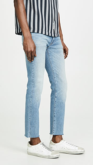 MOTHER The Joint Ankle Frayed Jeans