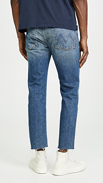 MOTHER The Neat Ankle Step Fray Jeans