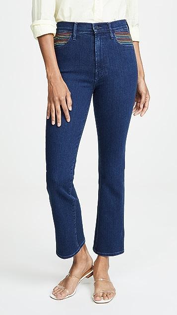 MOTHER Гладкие джинсы Hustler