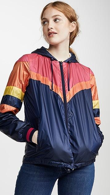 Mother Coats The Triple Stripe Sport Breaker Jacket
