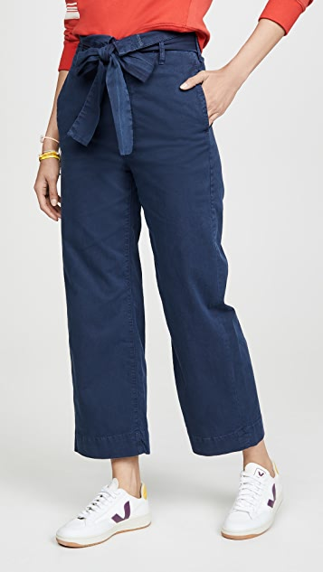 The Paperbag Greaser Ankle Jeans by Mother