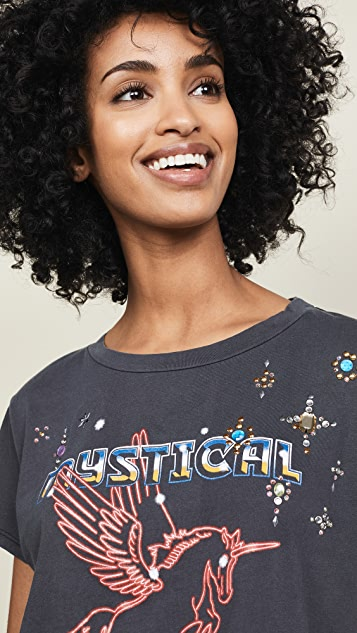 MOTHER The Boxy Goodie Goodie Tee