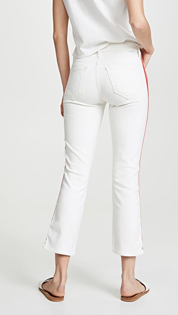 MOTHER Mid Rise Dazzler Crop Jeans
