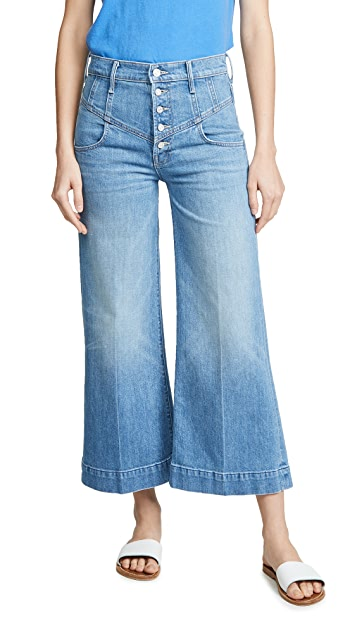 MOTHER MOTHER Superior Swooner Crop Jeans