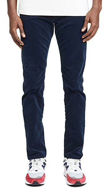 MOTHER The Chaser Corduroy Denim In Against The Grain Wash