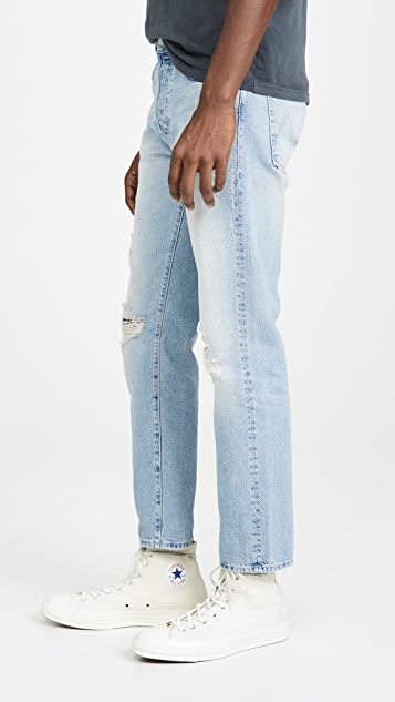 MOTHER The Chaser Ankle Denim In Mercy Wash