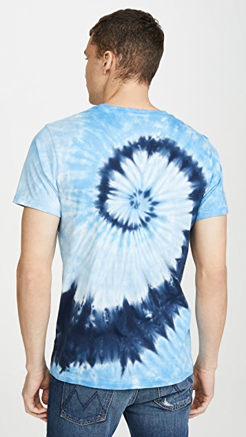 MOTHER The Buster Tie Dye Tee Shirt