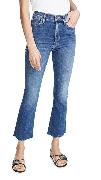 MOTHER The Hustler Ankle Fray Jeans
