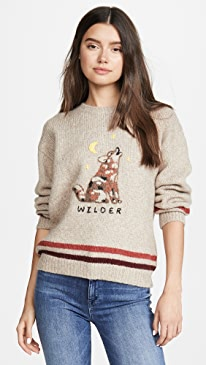 The Alpaca Boxy Pullover Sweater