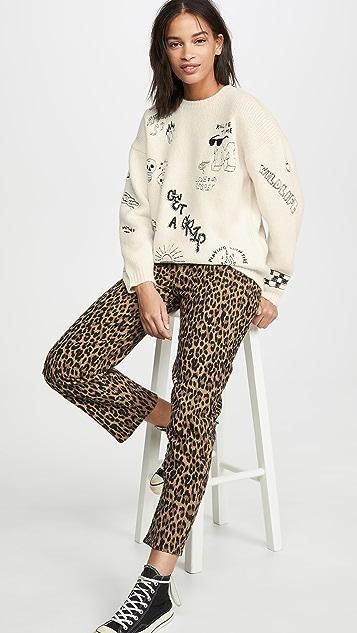 MOTHER Комбинезон-пуловер из шерсти альпака