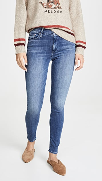 Mid Rise Looker Jeans by Mother