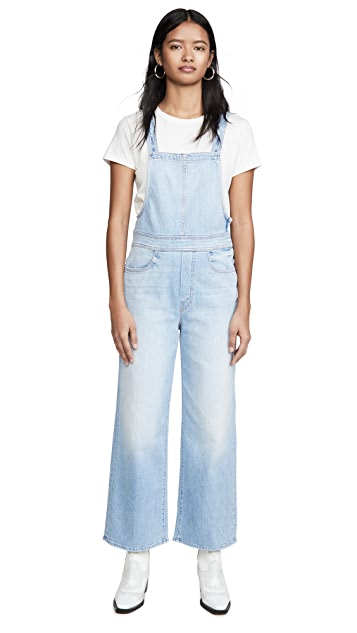 MOTHER MOTHER Superior The Greaser Overalls Ankle