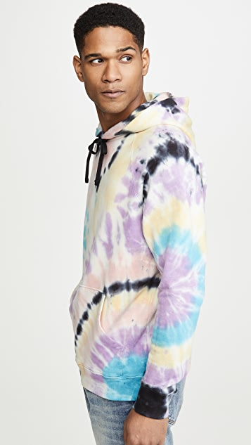 MOTHER The Champ Tie Dye Hoodie