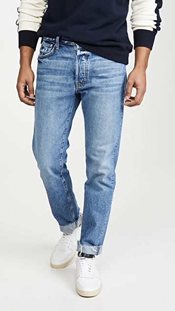 MOTHER The Chaser Ankle Cuff Fray Jeans