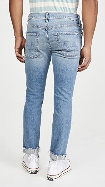 MOTHER The Neat Cuff Ankle Fray Jeans