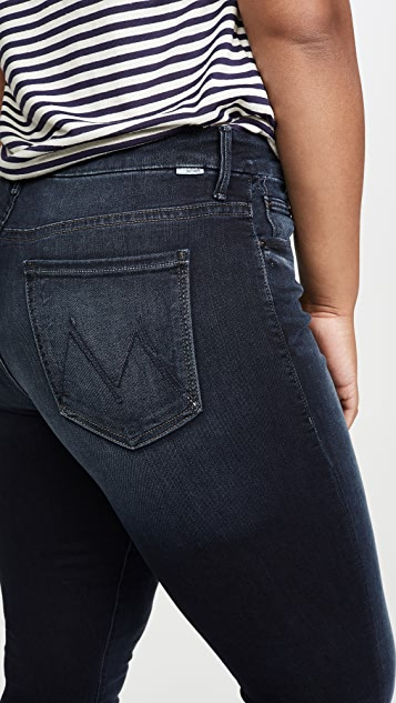 Mother High Waisted Looker Ankle Fray Jeans Last Call