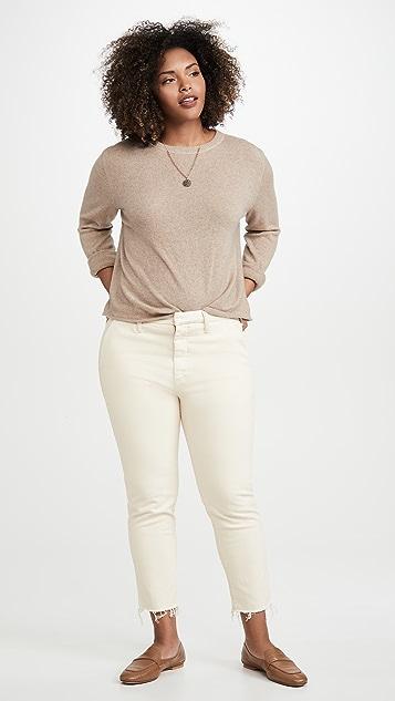 MOTHER Потрепанные джинсы Shaker Prep