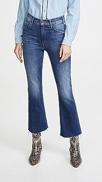 The Hustler Ankle Fray Jeans