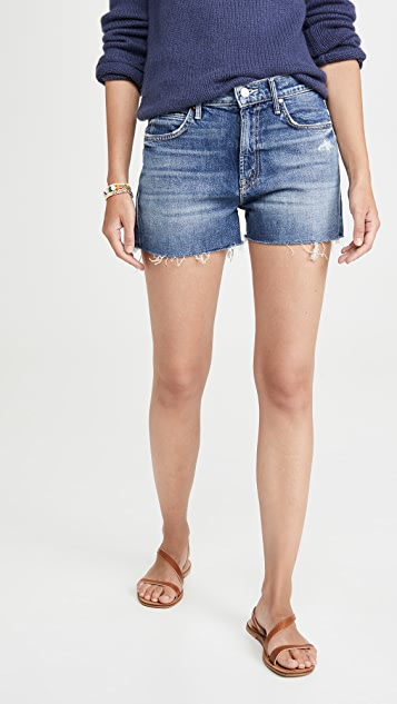 MOTHER The Dutchie Fray Shorts